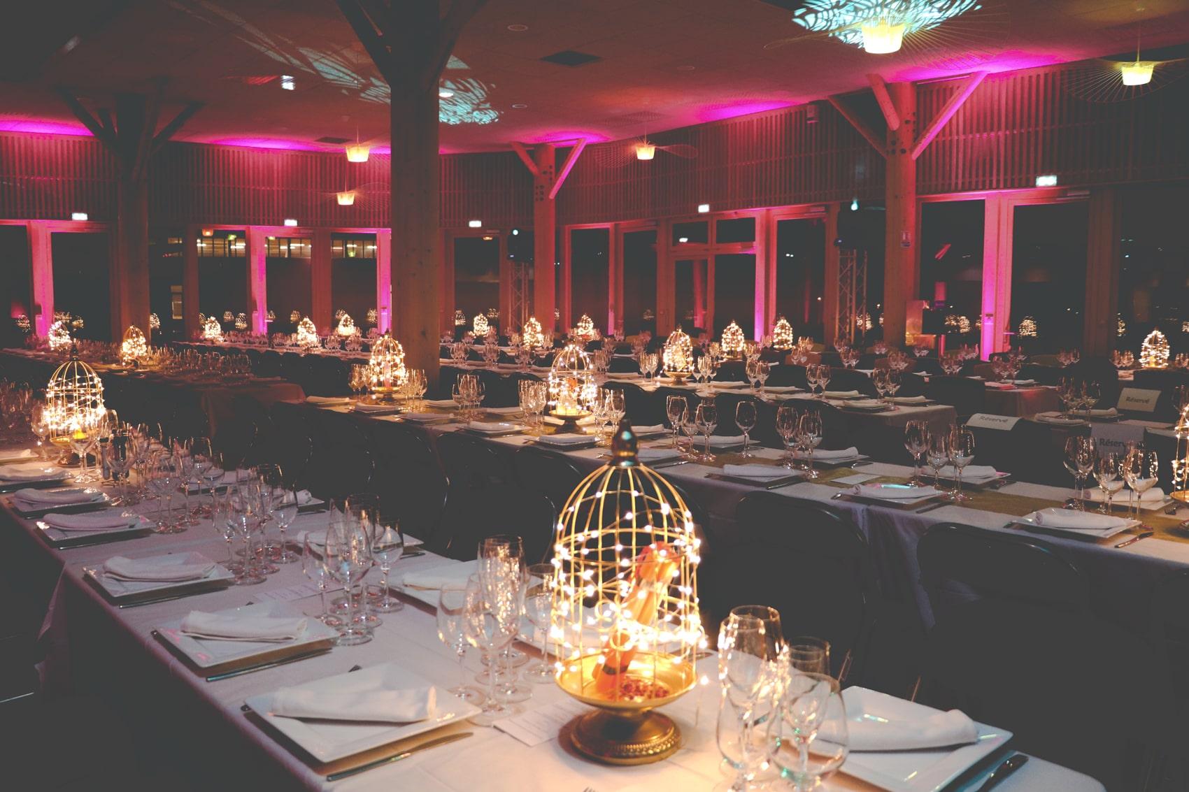 Salle principale d'un évènement professionnel pour BiO'Pôle de LÉA, LÉA NATURE à Périgny près de La Rochelle (17)