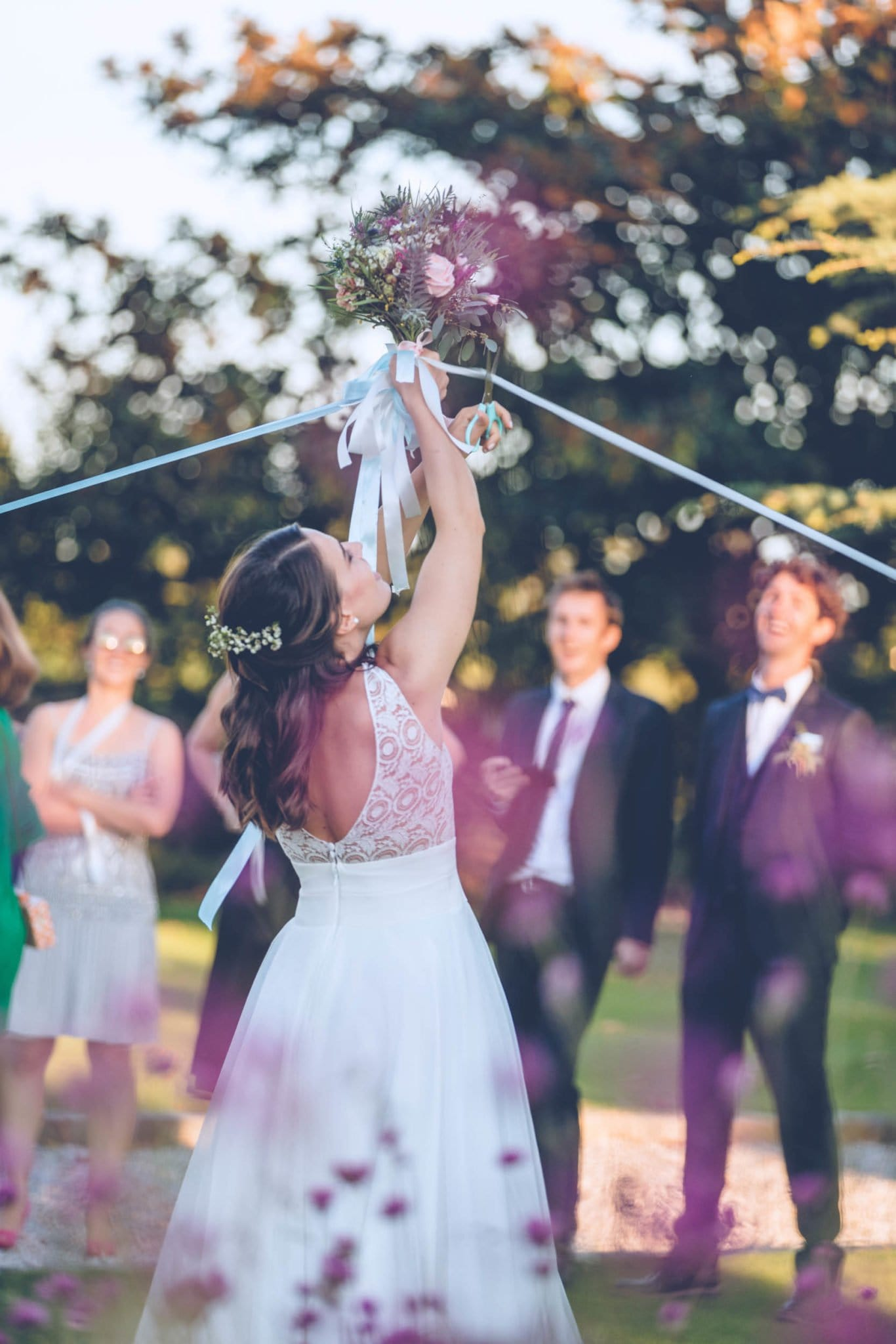 Photo de la réception d'un mariage organisé par l'agence Amoren