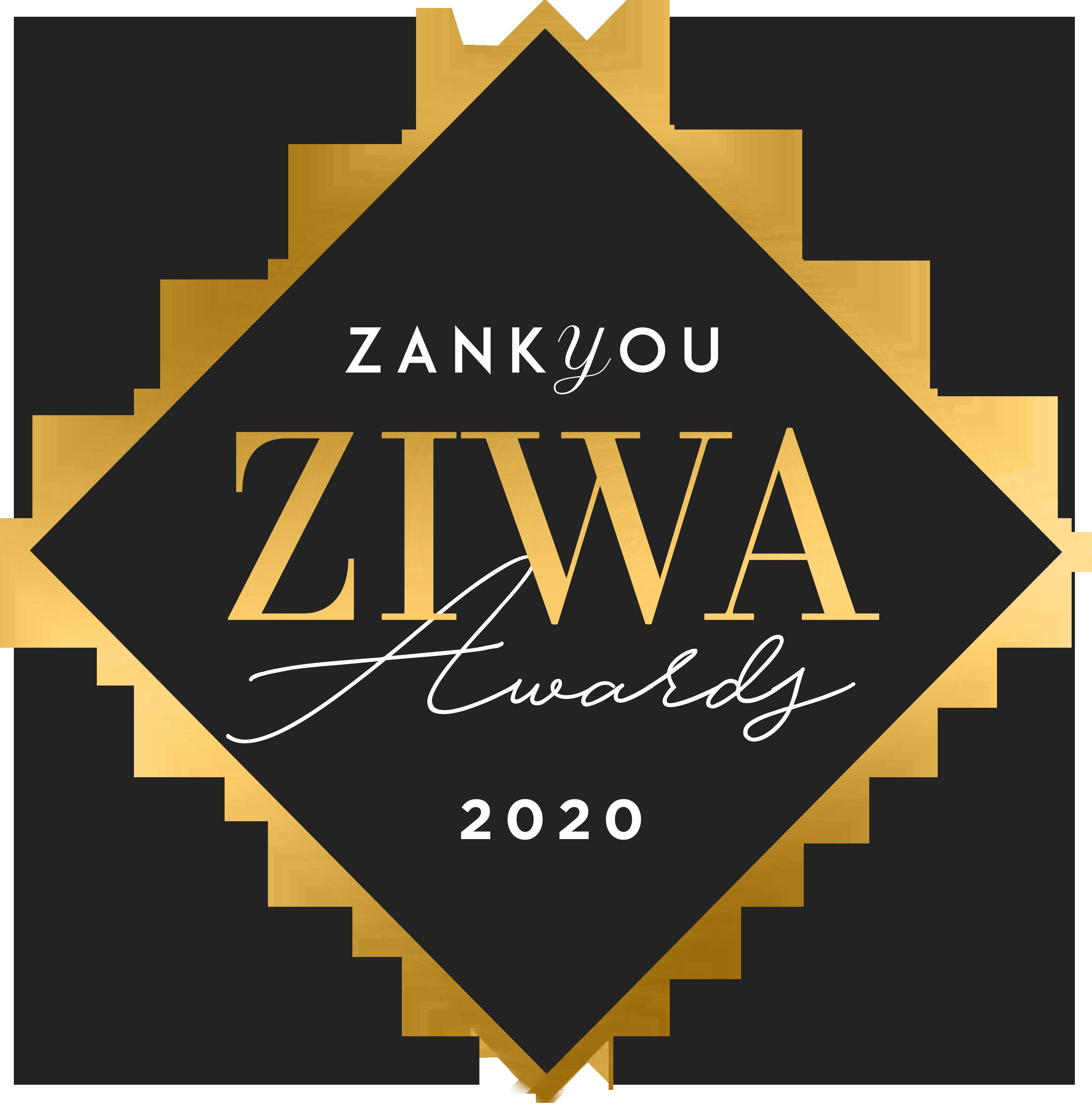 Prix Zankyou ZIWA Awards 2020